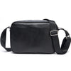 Men Messenger Bag Genuine Leather Men Travel Shoulder Bag Double Zipper Designer Crossbody Bag Business Real Leather