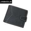 Wallet Men Leather Wallets Male Purse Money Credit Card Holder Case Coin Pocket Design Money Clutch