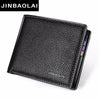 New Fashion Men Leather Luxury Wallet Short Slim Male Purses Money Clip Credit Card Dollar Price Pheromone Carter Purse