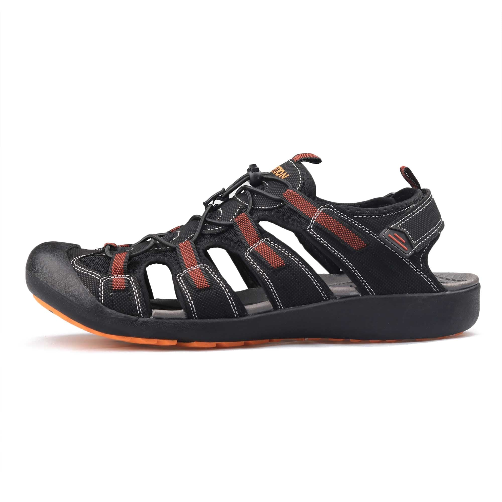 Men Leather Sandals Outdoor Hiking Sport Beach Comfort Casual Walking Shoes 13.5