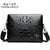 New Luxury Leather Men Bag Designer High Quality Shoulder Bag Male Fashion Crossbody Bag Crocodile Man Bag Messenger