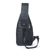 Genuine Leather Men Bag Men Messenger Bags Small Waist Pack Leather Shoulder Crossbody Bags For Man Belt Sling Chest Bag