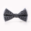 Business Floral Printed Bow Tie For Wedding Bridegroom Skinny Plaid Bow Ties Cravat Collar Bow Tie Accessories