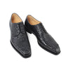 Luxury Handmade Black Crocodile Shoes Male Designer Genuine Leather Dress Wedding Party Shoe Mens Derby Shoes