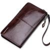 Genuine Leather Mens Wallet Male Wallet Fashion Male Clutch Card Holder Coin Purse Wallet Men Purse Money