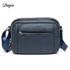 Genuine Leather Mini Bag Men Classic Messenger Bag Male Real Cowskin Daily Shoulder Bag Male Small Man Bag Trendy