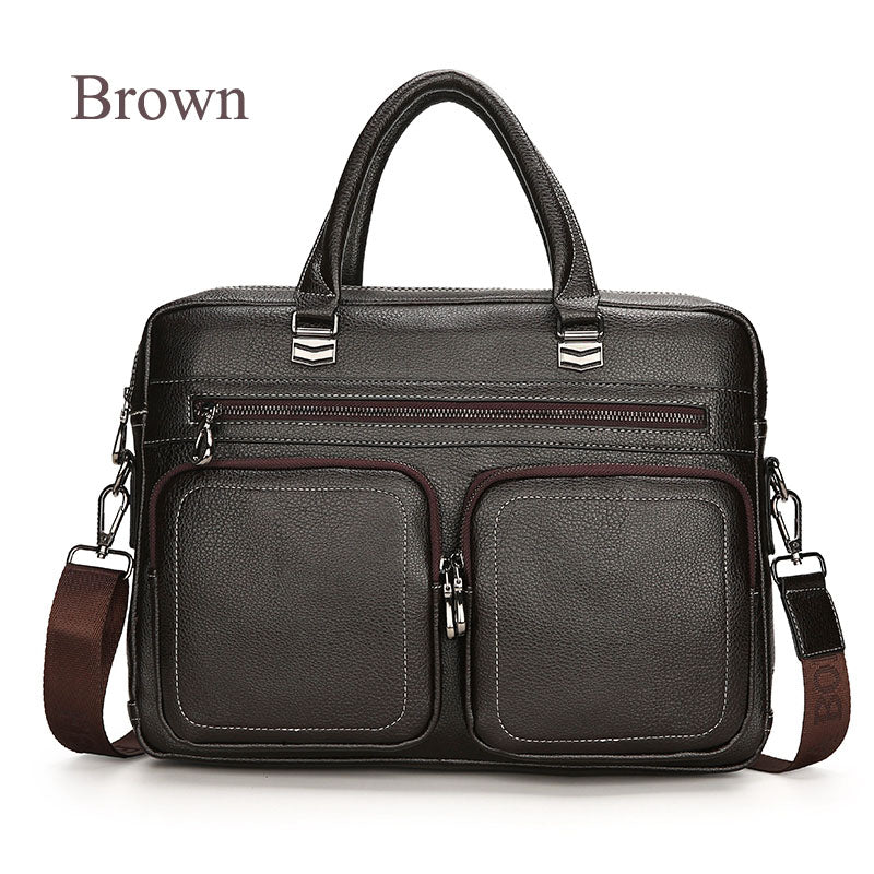7b0e3f7c2881 Designer Male Handbags Briefcase High Quality Leather Men s Messenger Bags  Men Crossbody Bags Man Office Bags