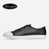 Leather Shoes Men Split Leather Design Luxury Casual Fashion Men Sneakers