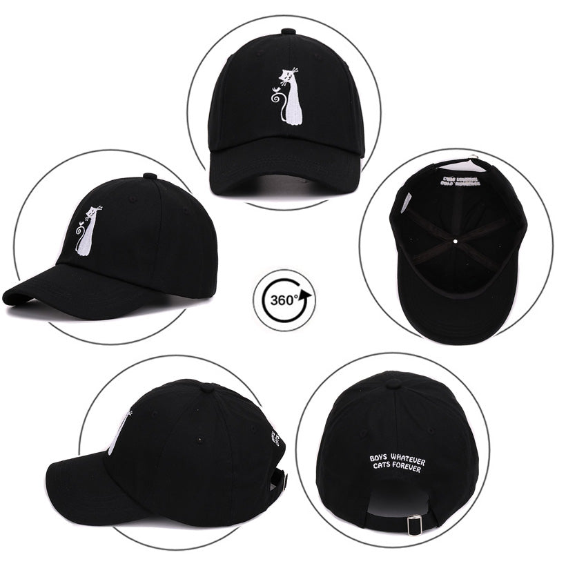 Boys baseball caps hip hop snap back polo drake dad hat cat sun golf cotton  bones 28af09f61f41