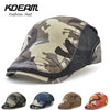 Breathable Camouflage Berets Cap Adjustable Caps for Men Summer Outdoor Women Sun Hats Flat Cotton Newsboy