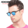Classical Club Polarized Sunglasses Men Polaroid Sun Glasses Vintage Women Goggles With Leather Box