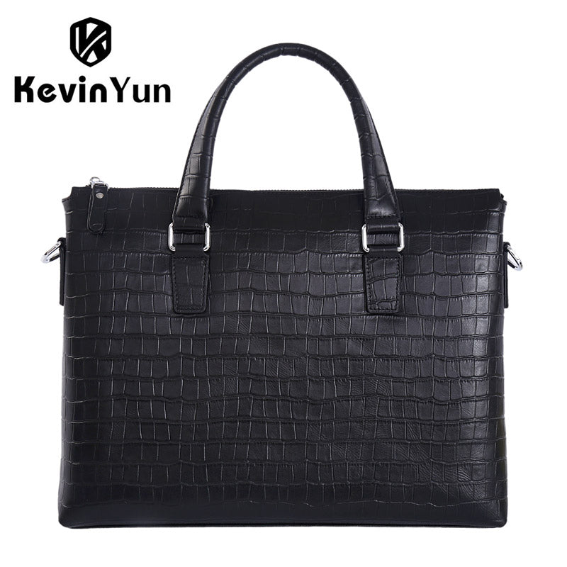 480ea4fadd82 Fashion genuine leather men bag business men briefcase laptop bag handbags  shoulder bags