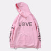 Li Peep Hoodies Love peep men Sweatshirts Hooded Pullover sweater shirts male asunder cry baby hood hoodie