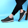 Breathable Mesh Light Weight Black Casual Men Shoes