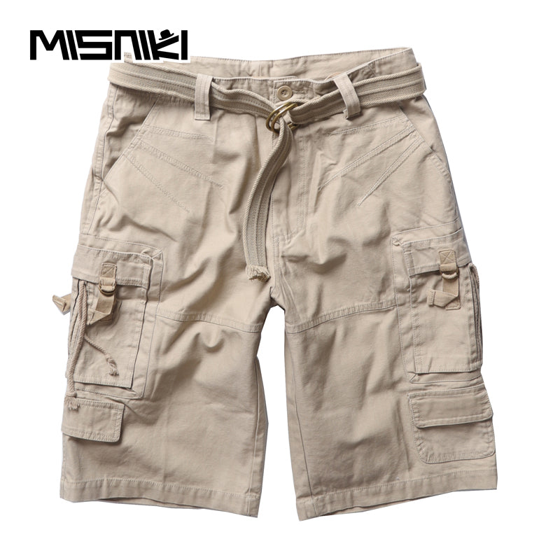 501f87503a Summer Cotton Cargo Men Shorts Casual Military Outwork Tactical Shorts Men  with Pocket