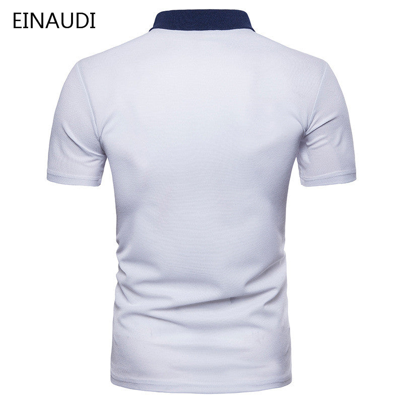 9b8a046b1530f ... where to buy men polo shirt fashion men clothing polo shirts short  sleeve white polo shirt