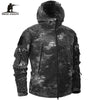 Autumn Winter Military Fleece Camouflage Tactical Men's Clothing Polar Warm Multicam Army Men Coat Outwear Hoodie