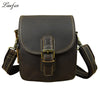 Men's genuine leather shoulder bag Cow leather small messenger bag cowhide waist bag Real Leather messenger bag