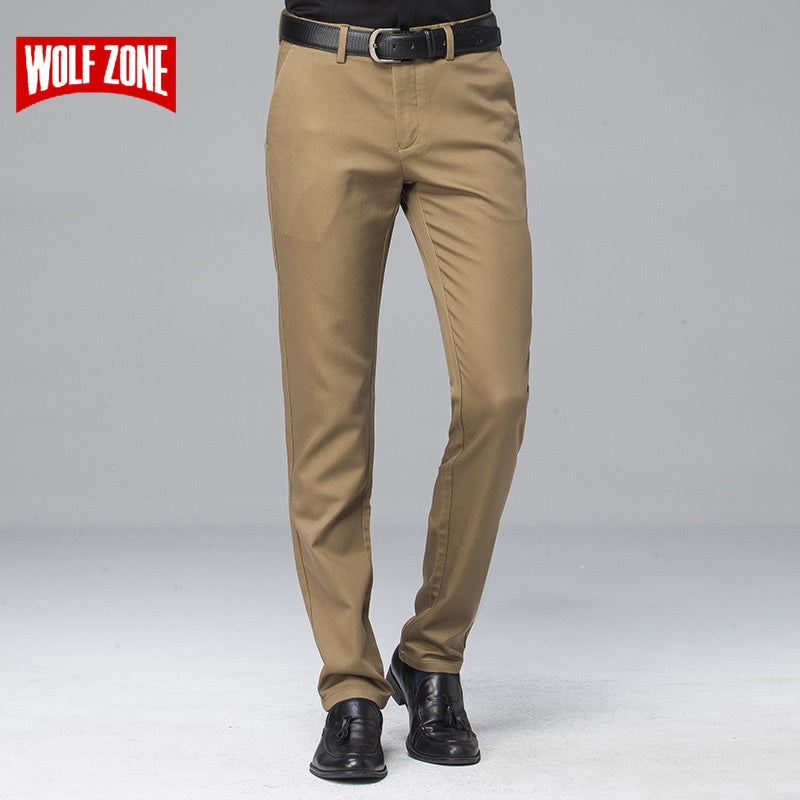 1752e42f3f5 Autumn Business Casual Pants Men Dress Clothing Men Formal Male For Trousers  Straight Full Length