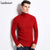 Autumn Winter Sweater Mens Turtleneck Solid Color Slim Fit Winter Pullover Men Trend Knitted Sweater Men