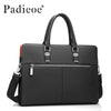 Genuine Leather Men Laptop Bag Briefcase Fashion Men's Business Bags Casual Leather Messenger Bag for Men