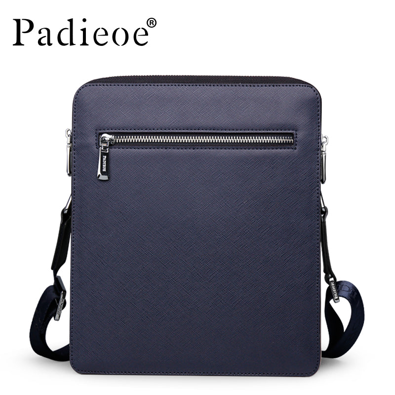 Top Quality Split Cow Leather Shoulder Bag Men s Messenger Bags Mens Luxury Designer  Crossbody Bag Handbags c23717206e26c