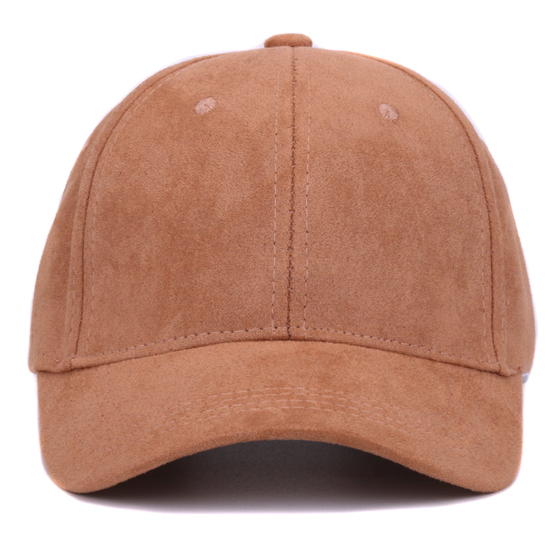 Plain Suede baseball caps with no embroidered casual dad hat strap back  outdoor blank sport cap ca2e29d40ca6