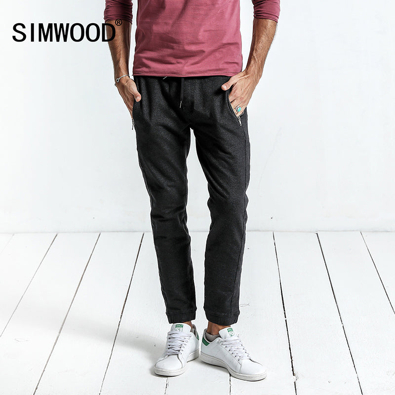 6092bc06 Spring New Casual Pants Men Drawstring Joggers Sweatpants Trousers High  Quality Clothing