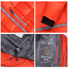 Men Fashion Down Jacket White Duck Down Winter Down Coat Red Zipper