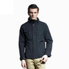 New Design Jacket Fashion Thin Polyester Padded Jacket Casual Cotton Coat Solid Zipper