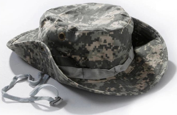 57d41fdd37d Tactical Airsoft Sniper Camouflage Boonie Hats Nepalese Cap Militares Army  Mens American Military Accessories