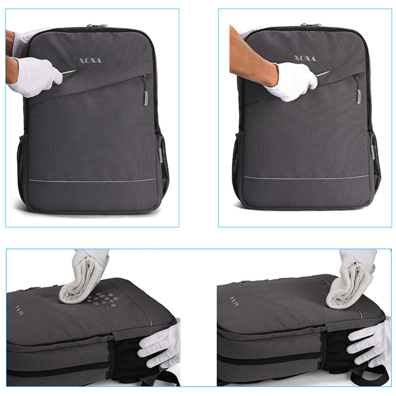 97bfad7de045 Removable Waterproof Backpack Men Casual Daypack for Teenagers Business  Backpack Oxford. Sale