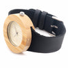 Women's Vintage Design Luxury Wooden Bamboo Watches Ladies Watch With Real Leather Quartz Watch in Gift Box