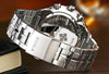 Luxury Full Steel Waterproof Wristwatch