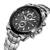 Full Steel Business Wristwatches Casual Waterproof