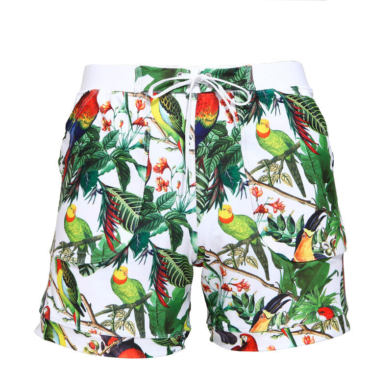 Men's Clothing New Arrivals Men Swimwear Swimsuits Beach Board Shorts Boxer Trunks Sea Casual Short Bottoms Quick Drying Gay Pockets Shorts