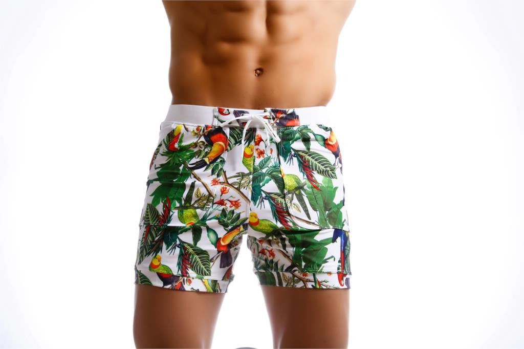 Gailang Brand Mens Beach Shorts Board Boxer Trunks Shorts Short Bottom Quick Drying Bermuda Swimwear For Men Swimsuits Summer Pretty And Colorful Men's Clothing