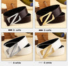 New Fashion men Leather Belts Casual Smooth Buckle Women's Belts men's straps For Male Unisex Female