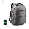 External Charging USB Function Laptop Backpack Anti-theft Man Business Day back  Women Travel Bag