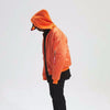 warm high  street orange jacket Hip Hop Suit Pullover Winter Jacket Men Coat fashion mens windbreaker