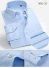 Fashion Men's Dress Shirt Good Quality Solid Twill Fashion Social Formal New Spring Men Business Casual Shirts