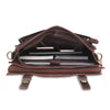New Crossbody Bags Men Genuine Leather Vintage Buckle cover Designer Large Messenger Bags For Men