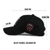 Embroidery Baseball Polos Cap Breathable Casquette Snapback Hip-Hop Retro Hat Sport Fly Cap 5 Panels Street Hats Gorras
