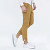 Spring Summer Men Casual Pants New Fashion Slim Straight Men's Trousers