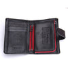 Business Style Fashion Genuine Leather Men Wallet Hasp&Zip Men Purse With Coin Pocket Male Card Holder Short Wallets