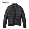 New Winter Men Jacket Down Men's Clothing Casual Baseball Uniform Down Coats Male Fashion Winter Jacket