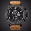 Aviateur Hombre Mens Date Day Watch Luxury Men Military Sport Wristwatch Quartz Watch Multi-function Clock