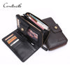 New Business Men Long Wallet Hasp Zipper Designer Genuine Leather Male Purse Mens Clutch Luxury Wallets