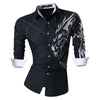 Spring Autumn Features Shirts Men Casual Jeans Shirt New Arrival Long Sleeve Casual Slim Fit Male Shirts