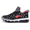 Newest Outdoor Running Shoes Men's Sneakers Elastic Women Jogging Shoes Black Trainers Sport Shoes